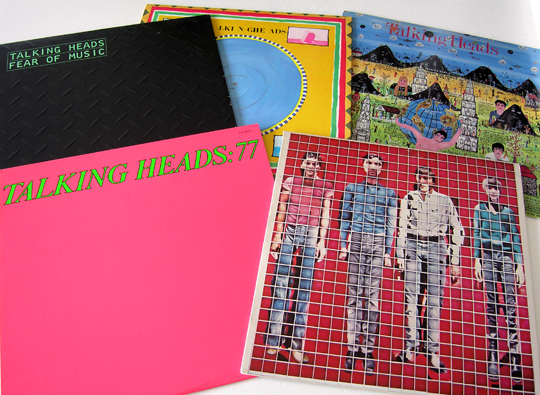 Talking Heads LPs