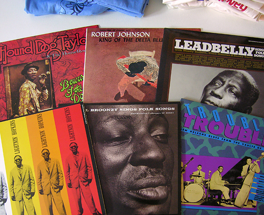 blues vinyl records
