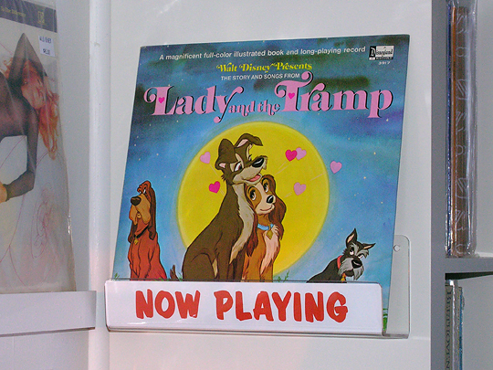 lady and the tramp disney vinyl