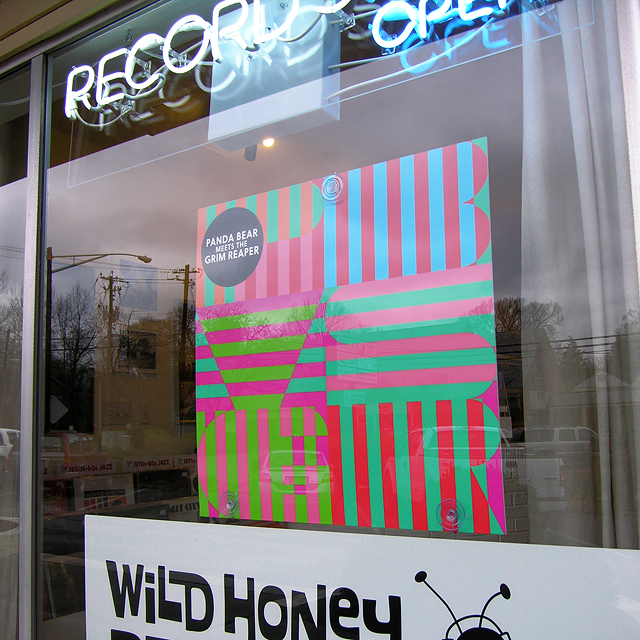 panda_bear_meets_the_grim_reaper_display_at_wild_honey_records_knoxville_tennessee