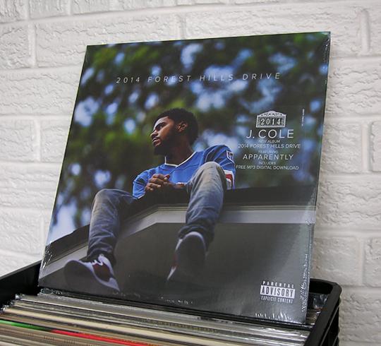 J. Cole 2014 Forest Hills Drive vinyl