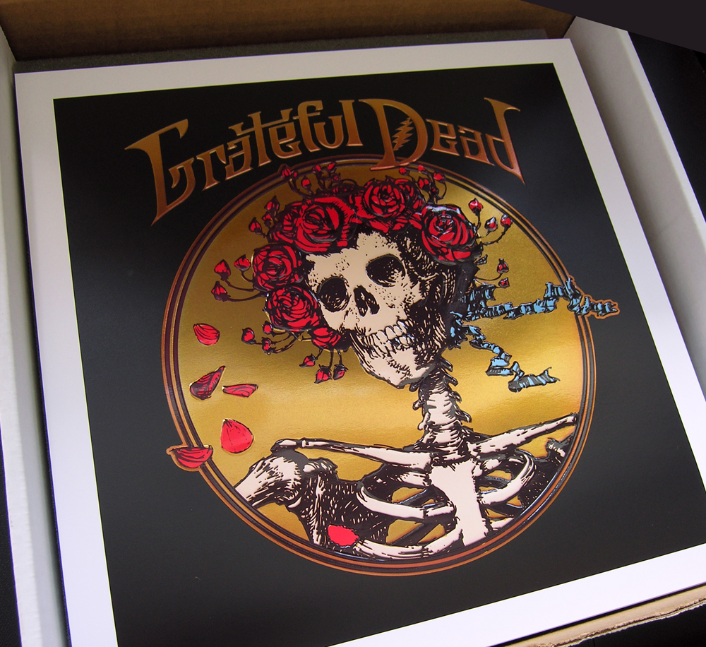 Grateful Dead litho