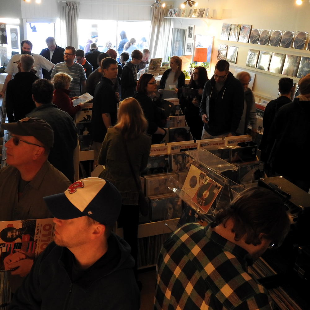 Record Store Day Wild Honey Records Knoxville Tennessee