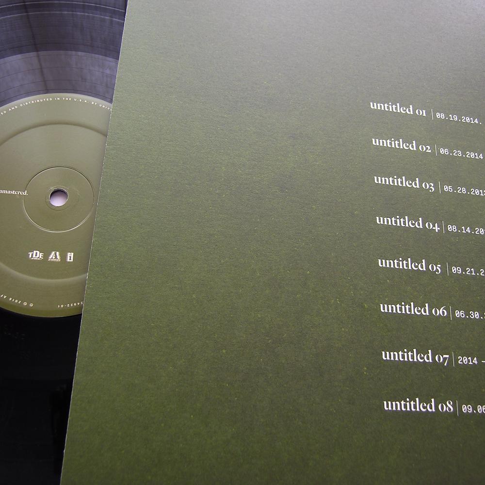 Kendrick Lamar Untitled vinyl