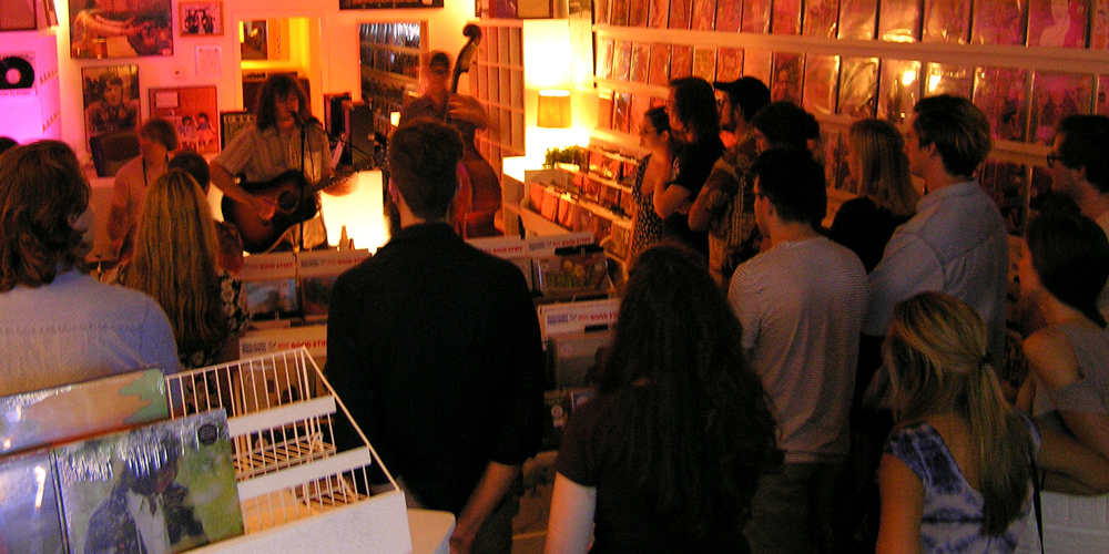 ryley walker instore knoxville tennessee record store