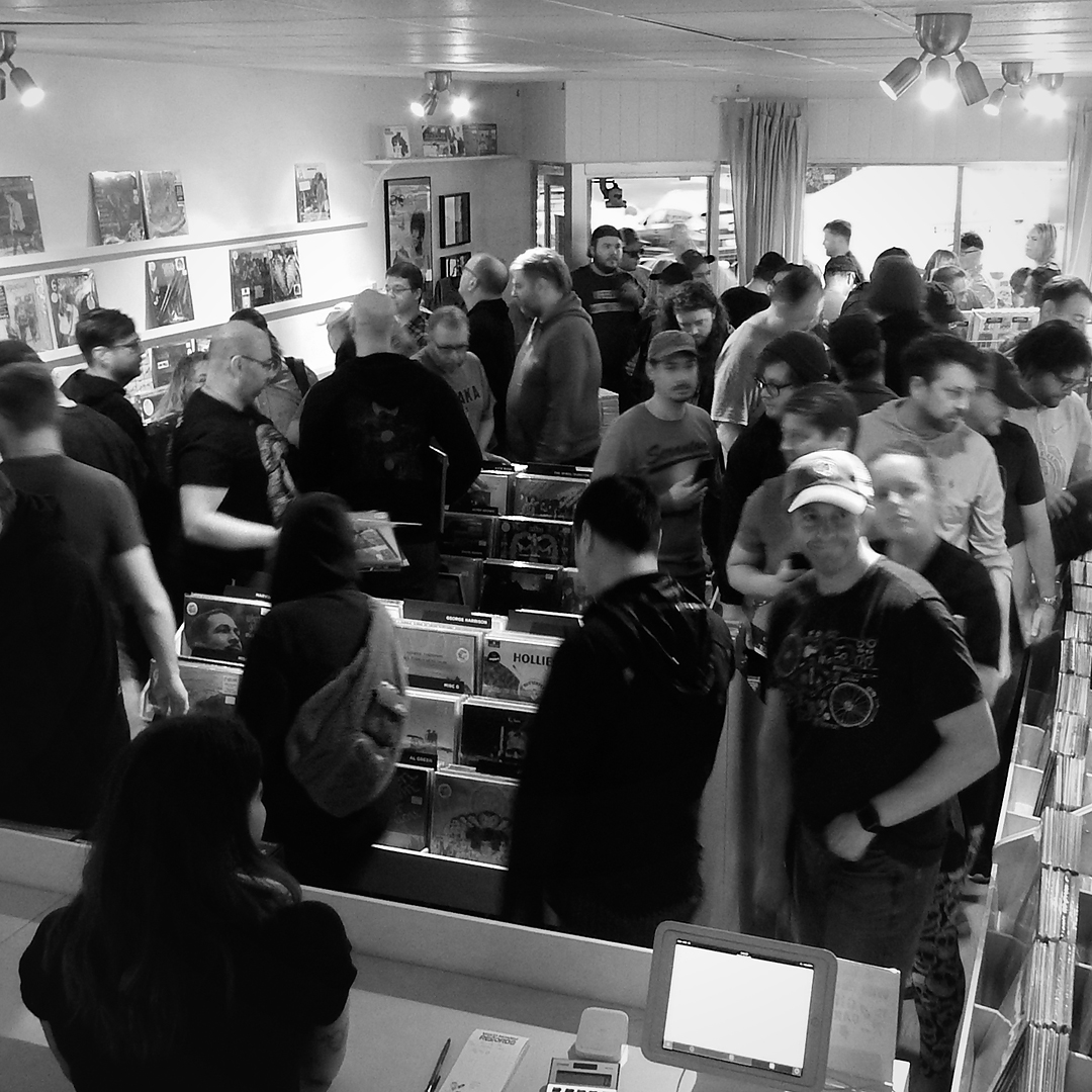 Record Store Day 2019 at Wild Honey Records