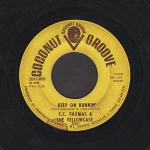 C.C. THOMAS & THE YELLOWCASE 45
