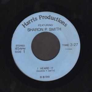 MITCHELL HARRIS & SHARON SMITH 45