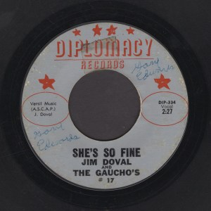 JIM DOVALL & THE GAUCHOS 45
