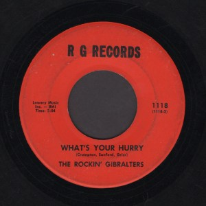THE ROCKIN GIBRALTERS 45