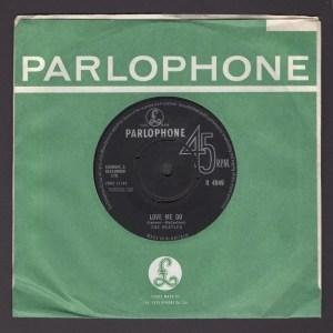 THE BEATLES LOVE ME DO PARLOPHONE 45