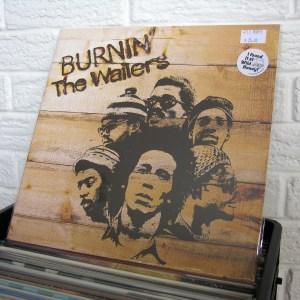 BOB MARLEY & THE WAILERS vinyl record