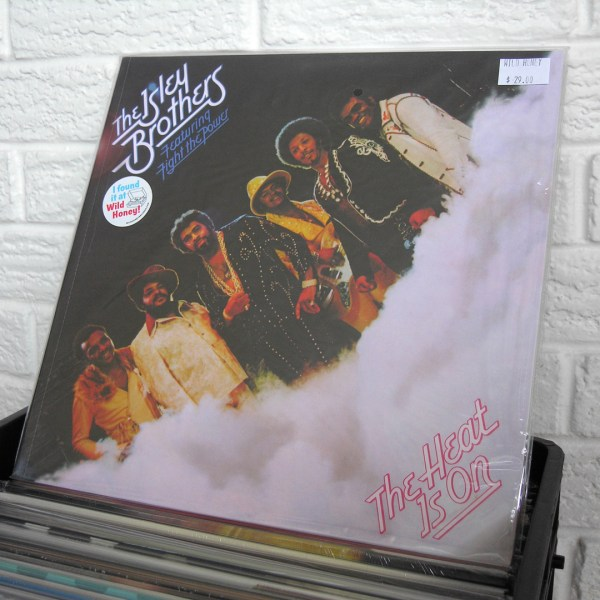 THE ISLEY BROTHERS vinyl record