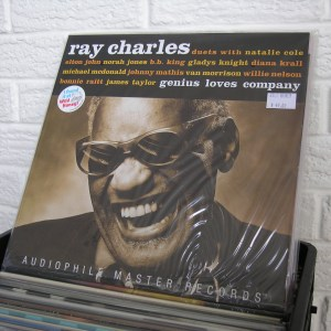 RAY CHARLES vinyl record - new