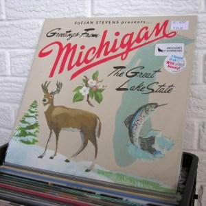 SUFJAN STEVENS vinyl record - new