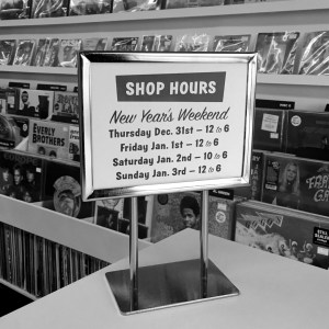 NEW YEAR'S WEEKEND HOURS