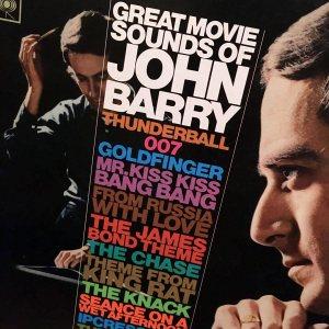 John Barry composer great movie sounds vinyl
