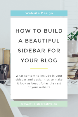 How to Design a Great Sidebar for Your Blog