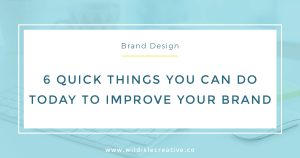 Improve Your Brand Facebook