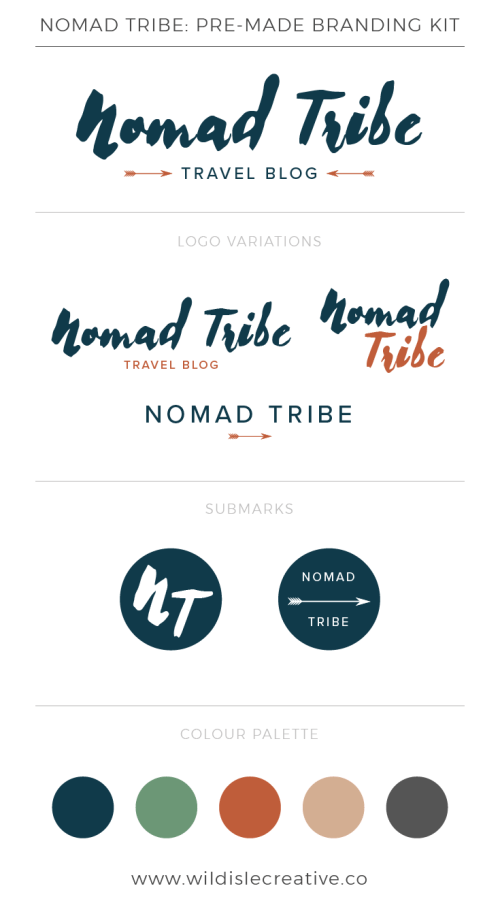 Nomad Tribe - Brand Design Kit