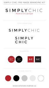 Simply Chic - Brand Design Kit