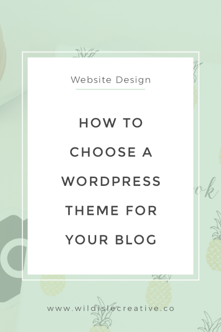 How to Choose a WordPress Theme for Your Blog