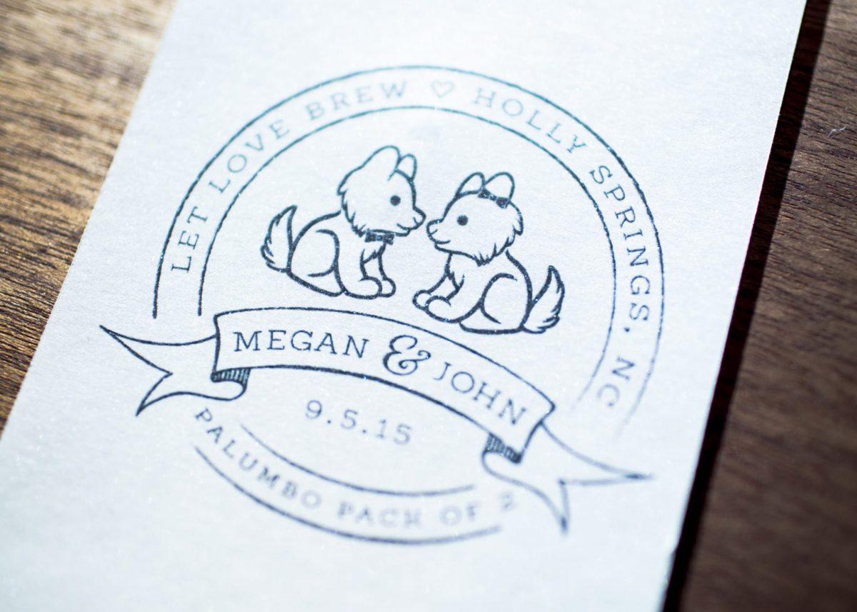 Wild Joy Weddings M+J Logo by Wild Joy Studios