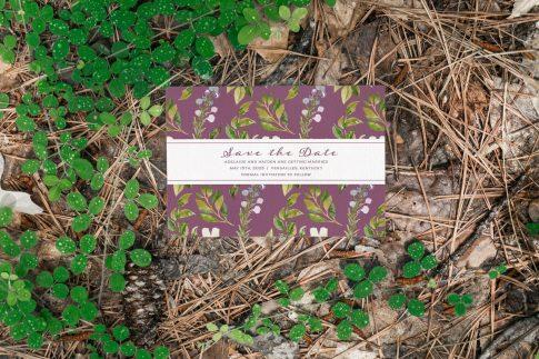 Floral Crest StD - Forest Stationery Mockup 22