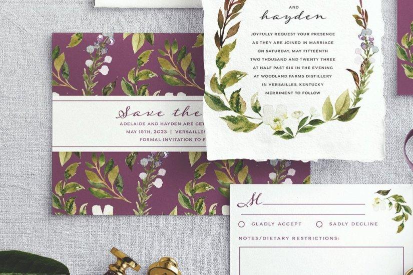 floral crest 3 - suite-005-wedding-collection