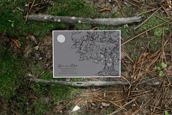 save the date - Forest Stationery Mockup 15