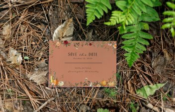 save the date - Forest Stationery Mockup 24