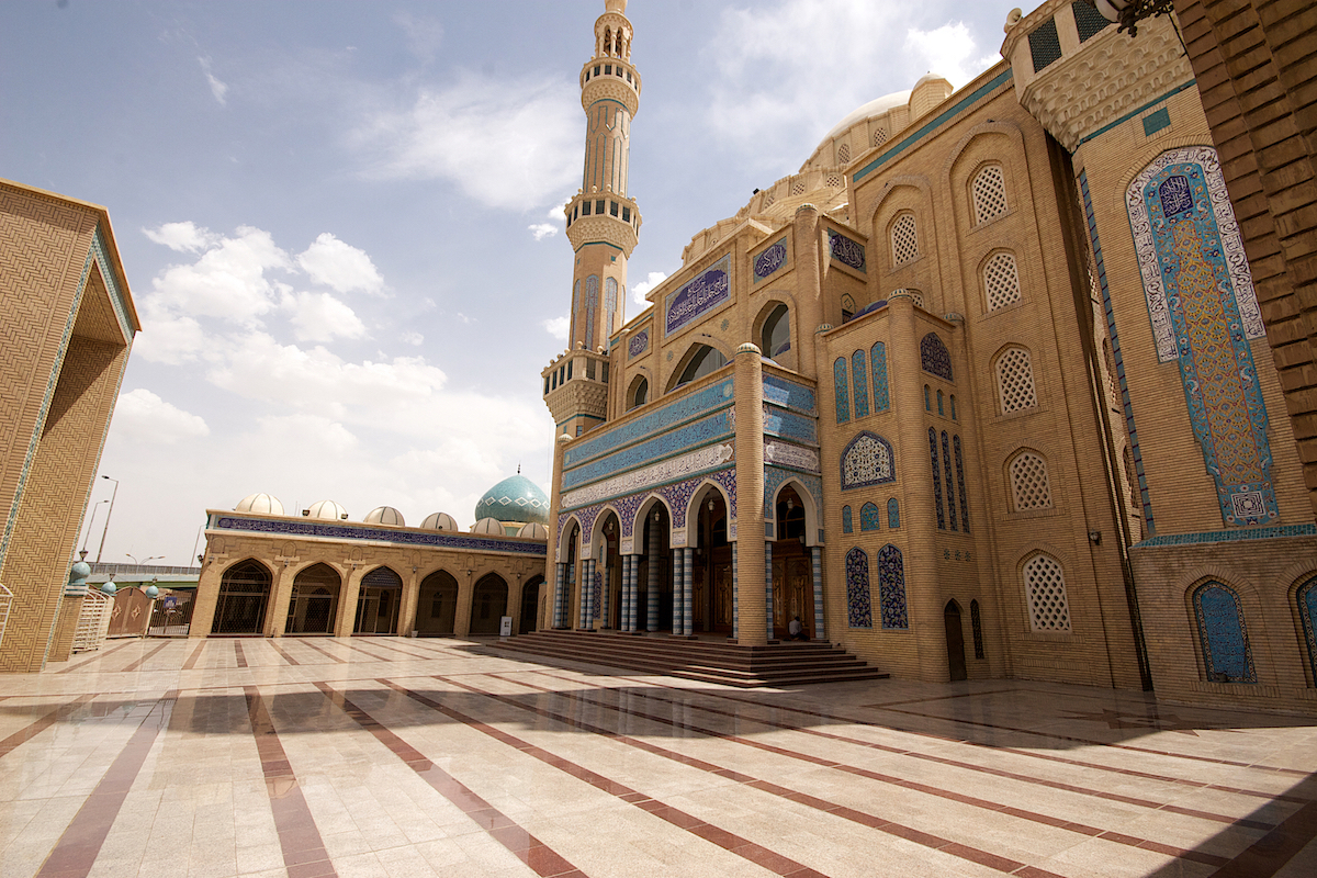 Iraqi Kurdistan tour - mosque in Erbil
