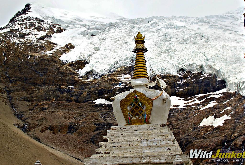 Tibet tour - Karo La Glacier