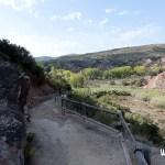 Ruta del agua de Chelva. Camino a la presa de Olinches