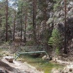 Puente. Excursión al Cañón de los Arcos en Calomarde