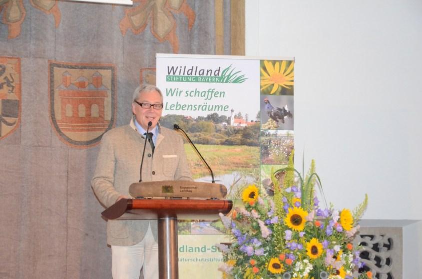Enno Piening, Vizepräsident des BJV©Wildland-Stiftung Bayern