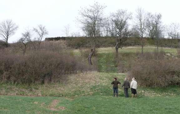 Hecken und Streuobstbäumen©Wildland-Stiftung Bayern
