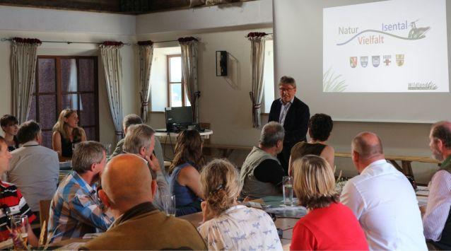 Vorstand des Bayerischen Naturschutzfonds, Ministerialrat Georg Schlapp