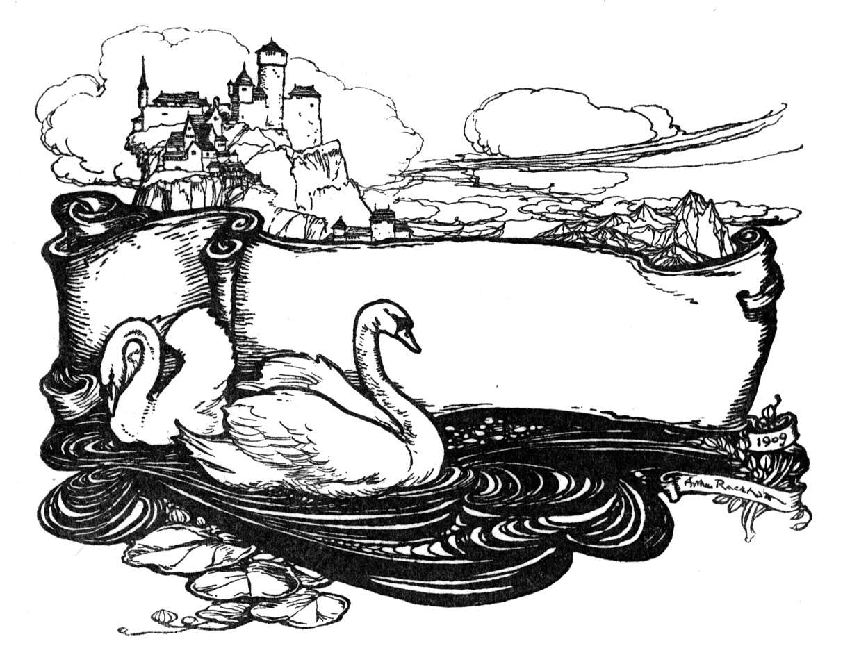 Trumpeter Swan Coloring Pages