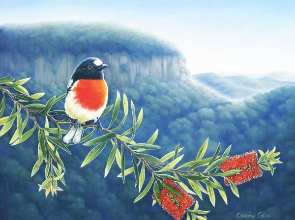 First Light - Scarlet Robin