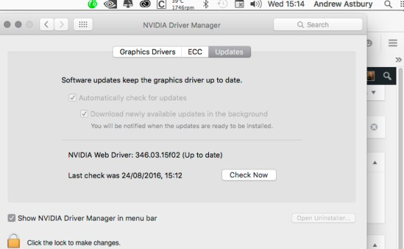 Screen Shot 2016 08 24 at 15.13.47 2009 Mac Pro GPU Upgrade