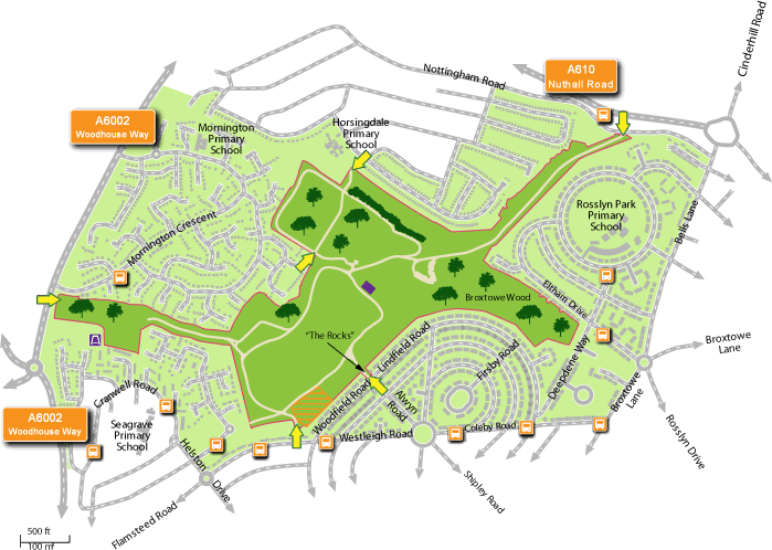 Image result for broxtowe country park