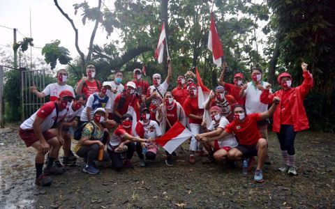 Rehash @2173 Red & White Freedom Run