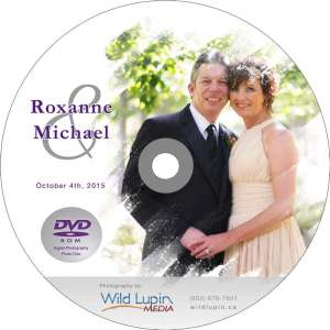 Roxanne & Mike Disc Label