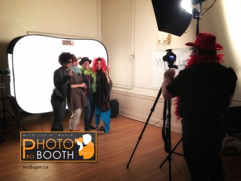 Photo Booth in Use 1
