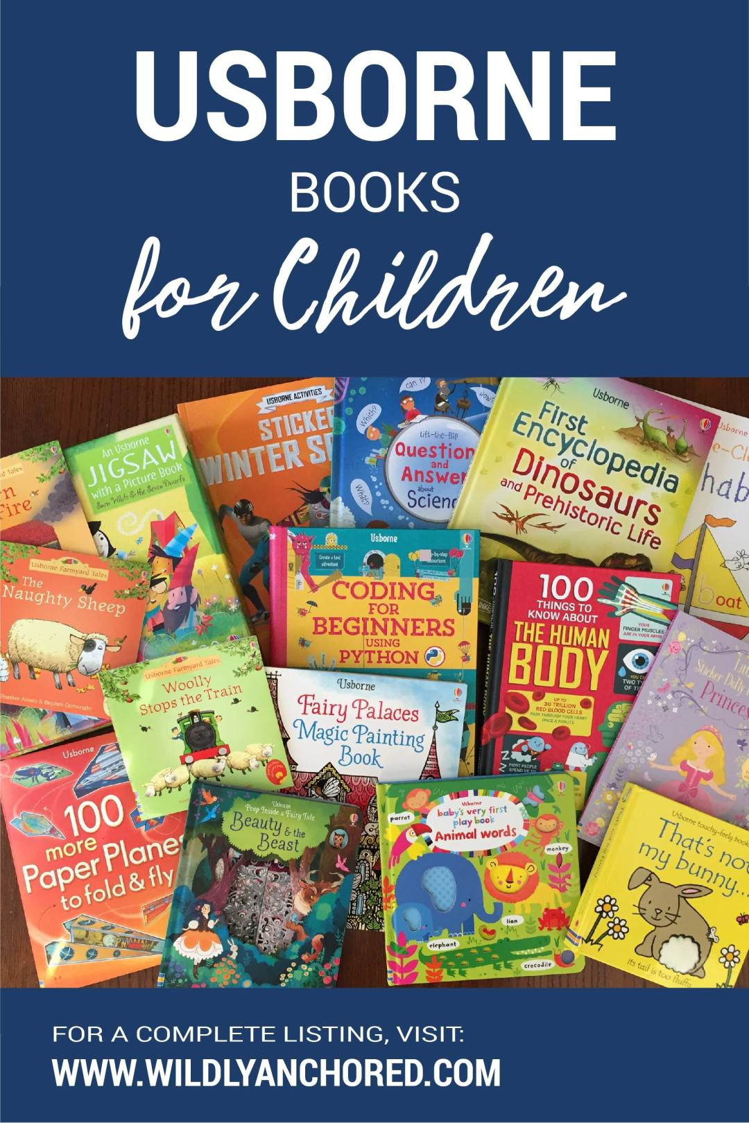 Find Usborne books for children, including a FREE My Reading List printable.