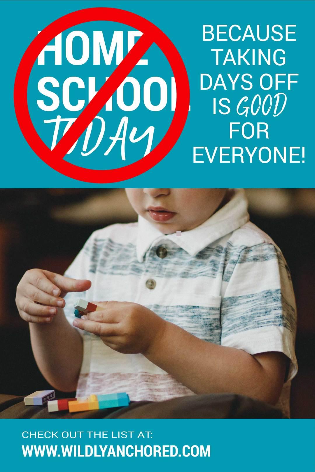 How to Reset a Tough Homeschool Day (No Homeschool Today)