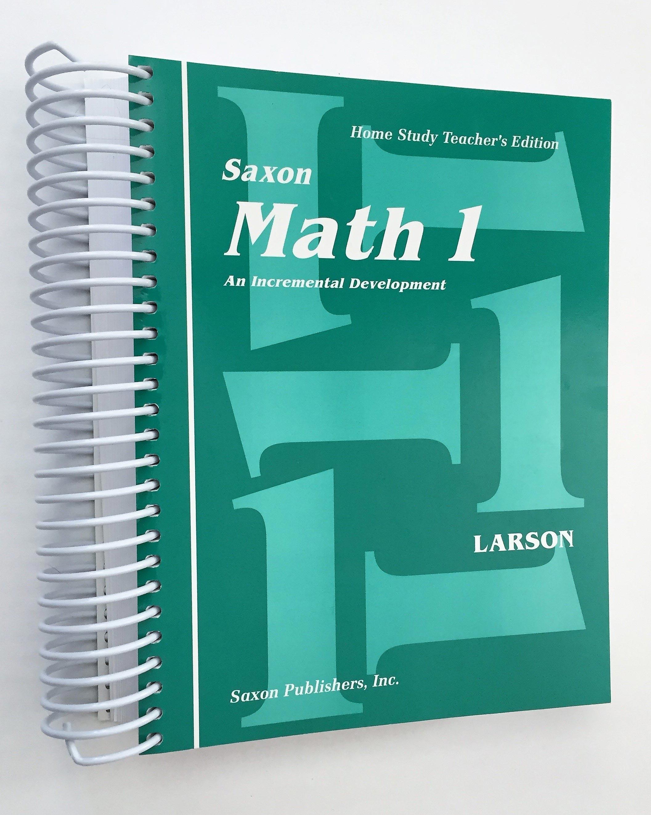 Saxon Math Worksheet From Math