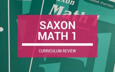 REVIEW: Saxon Math Grade 1 Curriculum