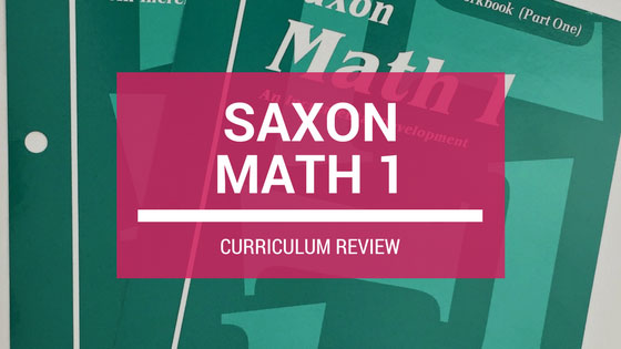REVIEW: Saxon Math Grade 1 Curriculum